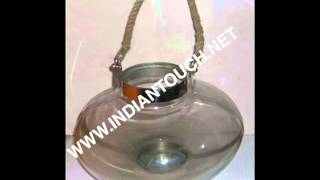 India Glass Lanterns-indian Touch