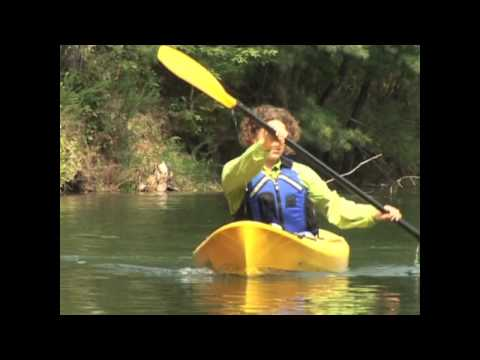 Kayak Technique - The Forward and Reverse Stroke