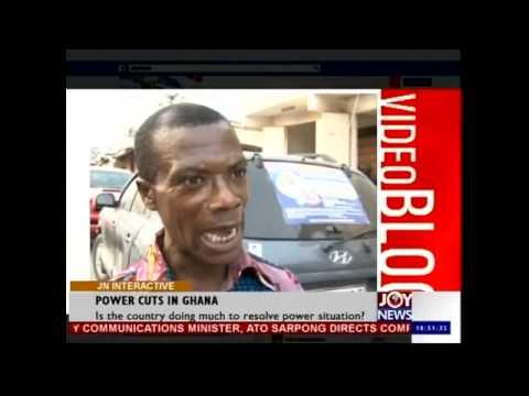 Power Cuts in Ghana - Joy News Interactive (23-1-15)