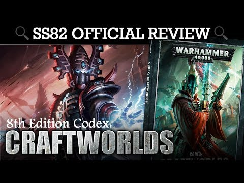*NEW* Craftworlds (Eldar) Codex REVIEW + TACTICA Warhammer 40K 8th Edition | HD