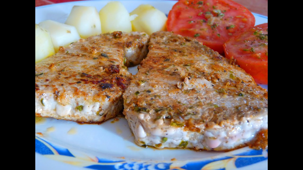 cocina f cil at n a la plancha grilled tuna youtube