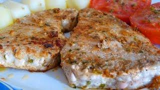 Cocina Fácil - Atún A La Plancha - Grilled Tuna