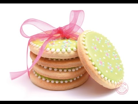Biscuits Decores Glacage Royal Cookies Royal Icing Youtube
