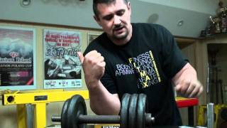 Как накачать бицепс и супинатор 16 (Training of Arm wrestling / Biceps and Supinator)(, 2011-06-17T20:56:27.000Z)