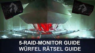 Destiny : Raid Monitor Guide / Würfel Rätsel Guide (Deutsch/German)