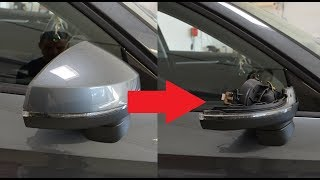 Mirror cover removal Audi A3/A4 2013