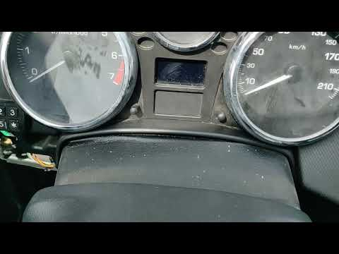Peugeot 207  speedometer replacement quick guide how to remove (English)