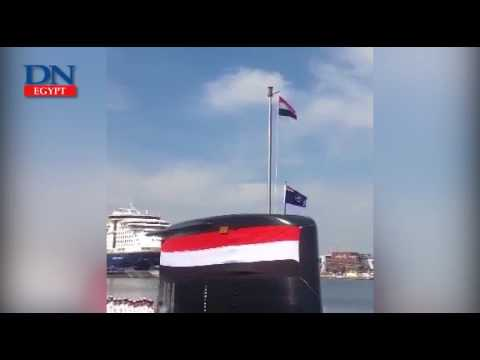 Egypt receives second of four 209/1400 submarines