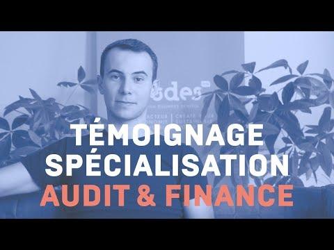 Témoignage - Spécialisation Audit et Finance