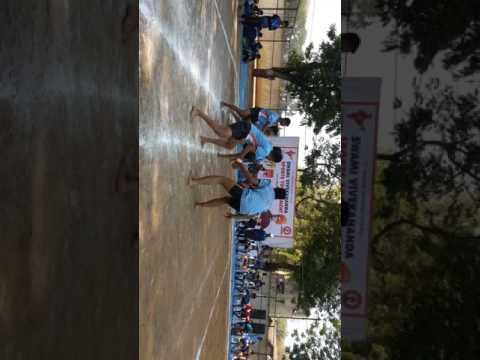 Navjeevan school KABADDI vedio in vadodara 2017