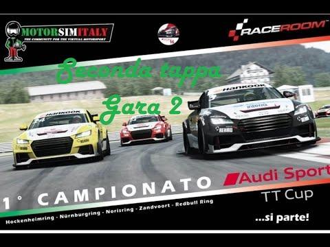 Raceroom Racing Experience  seconda tappaTT CUP gara2 Nurburgring MotorSimItaly |