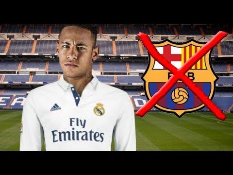 Betray Barca, Neymar Agree Moving To Madrid