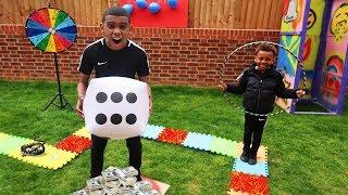 GIANT BOARD GAME CHALLENGE!!! - Winner gets $10,000!!!!!!