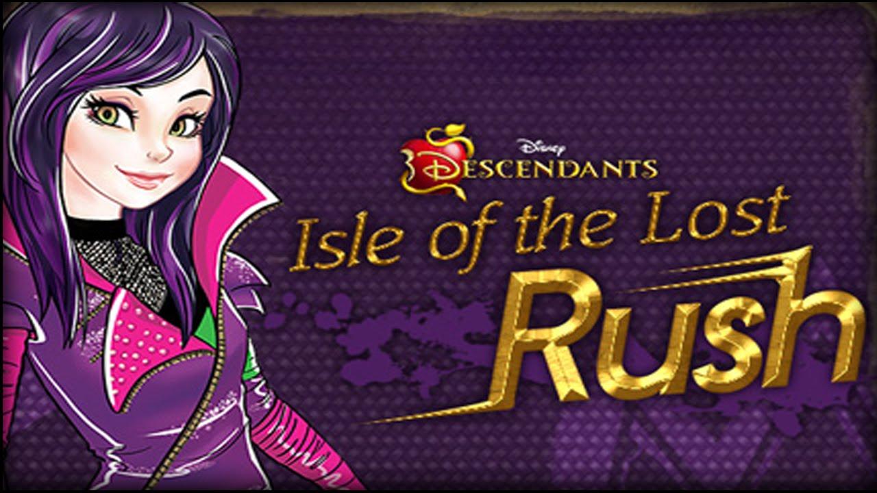 Descendants Isle Of The Lost Rush New Disney Games