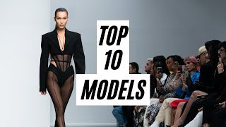 Top 10 Models: Most Opened Shows - Spring/Summer 2020