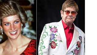 Elton John Planning a Tribute to Princess Diana When at Royal Wedding, Source Says