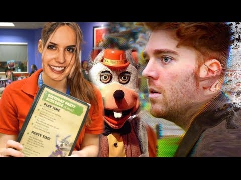 got a job at CHUCK E CHEESE to see if SHANE DAWSON was right