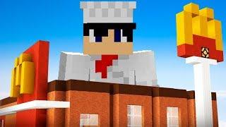 J'OUVRE UN MCDONALD'S ! | Minecraft !