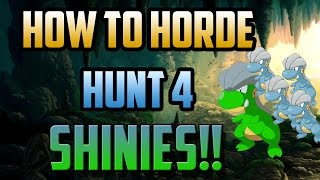 SHINY HORDE TUTORIAL/GUIDE! | How to Shiny Hunt in ORAS P1. | Omega Ruby Alpha Sapphire