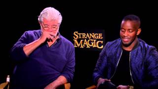 "Strange Magic: George Lucas & Elijah Kelley ""Sunny"" Movie Interview"