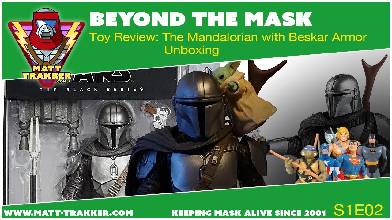 Toy Review: The Mandalorian with Beskar Armor - S1E02