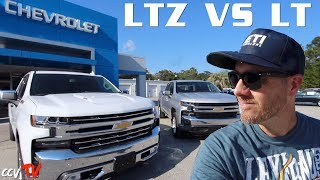 Versus Review - 2019 Chevy Silverado ( LTZ VS LT ) Trim Level Comparison | What You Get & Don't Get