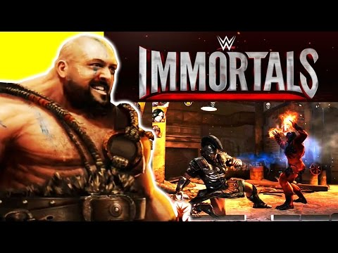 WWE Immortals Gameplay (Warner Bros) : Defeating Daniel Bryan, Kane and Paige thumbnail