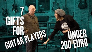 Download 7 Gifts for Guitar Players under 200 Euro MP3 song and Music Video