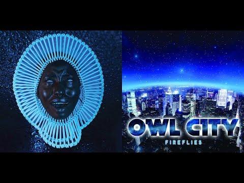 Childish Gambino x Owl City - Red Fireflies   Press Play