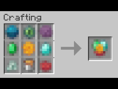 the rarest crafting recipe in minecraft history