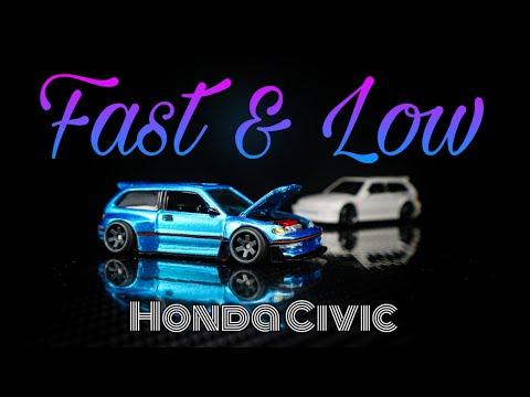 Diecast cars Honda civic ef hot wheels custom