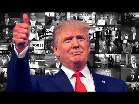 Trump Defends Sinclair Broadcasting's Orwellian Control Over Local News