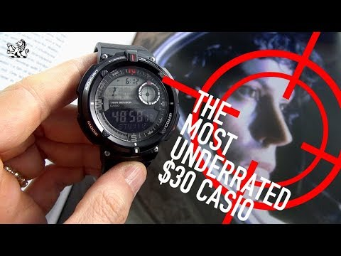 An Underrated $30 Casio Watch: Compass, Thermometer, Worldtime SGW600H
