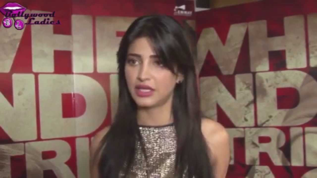 Shruti Hassan promoting her film 'D-Day' - YouTube
