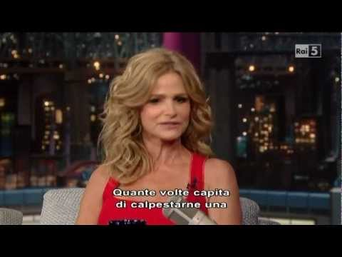 Kyra Sedgwick (The Closer) al David Letterman