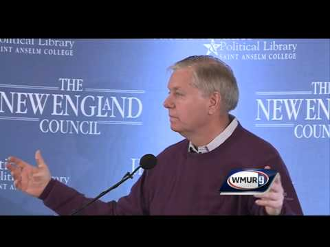 Raw Video: Lindsey Graham at Politics and Eggs event