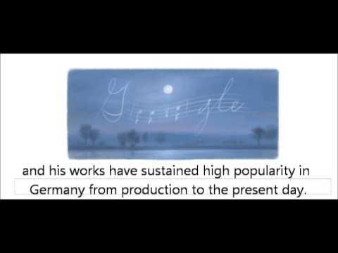225th Birthday of Joseph von Eichendorff Google Logo Doodle