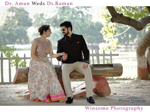 Dr. Aman & Dr. Raman | Punjabi Pre Wedding | Laung Gwacha - Coke Studio