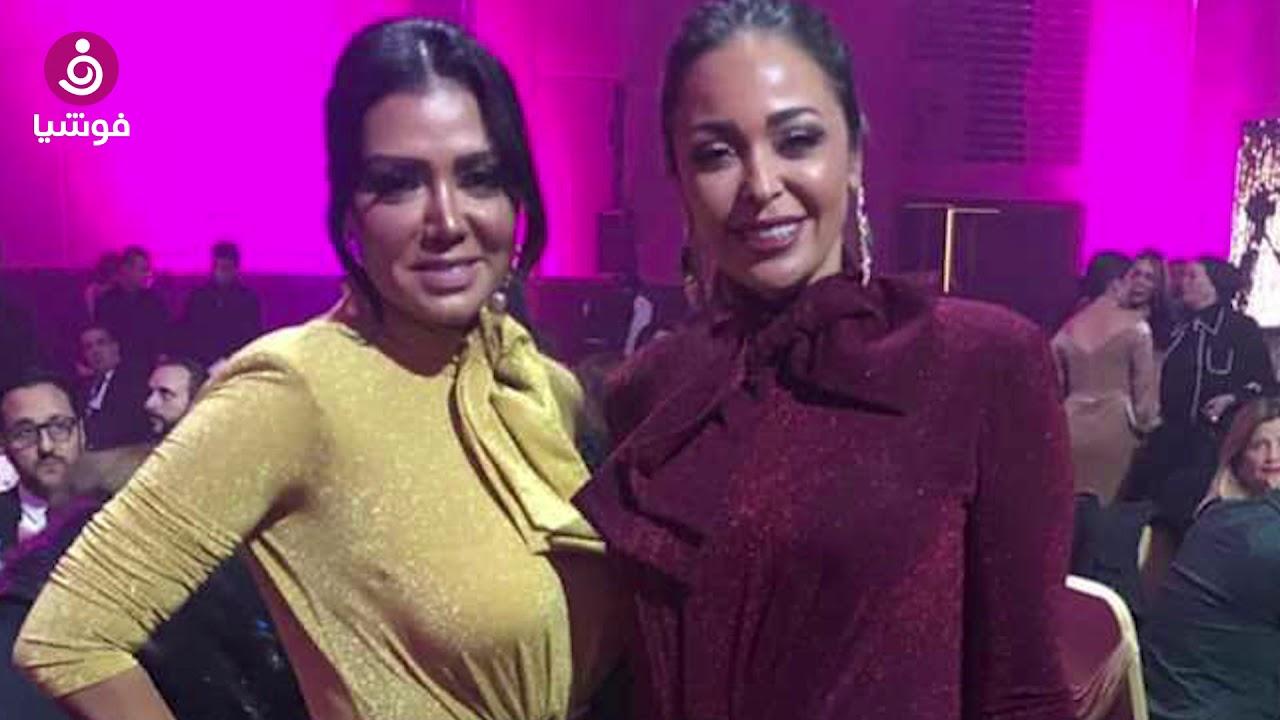 جينا سلطان تكشف سعر فستان رانيا يوسف وداليا البحيري في