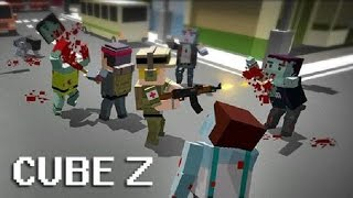 Cube Z Pixel Zombies (by Infinite Games ST) Android Gameplay [HD] screenshot 3
