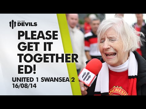 '4th? You're Having A Laugh'  | Manchester United 1 Swansea 2 | FAN CAM