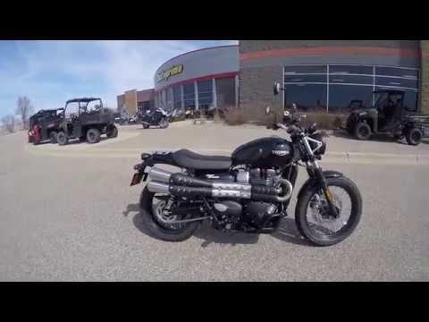 2017 triumph street scrambler new motorcycle for sale lakeville mn youtube. Black Bedroom Furniture Sets. Home Design Ideas