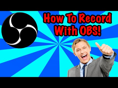 How To Record With OBS (Best Settings, Facecam)
