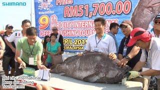 2015 Deep Sea Fishing Competition in Miri, Malaysia