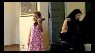Alma Deutscher (6) playing Dancla - variations on a theme by Rossini