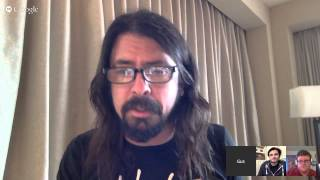 Dave Grohl of Foo Fighters chats about 4 Emmy nominations for