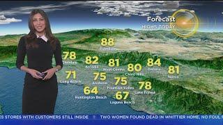 Danielle Gersh's Weather Forecast (April 24)