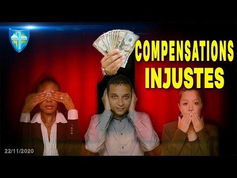 COMPENSATIONS INJUSTES - DIMANCHE 22/11/20