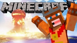 BLOWING UP MY MINECRAFT WORLD!