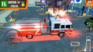 Coast Guard Beach Rescue Team #9 Firefighter Truck - Android Gameplay FHD